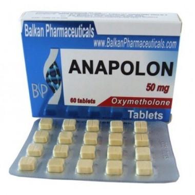 Anapolon Анаполон 50 мг, 100 таблеток, Balkan Pharmaceuticals в Костанае