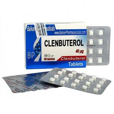Clenbuterol Кленбутерол 40 мкг, 100 таблеток, Balkan Pharmaceuticals в Костанае
