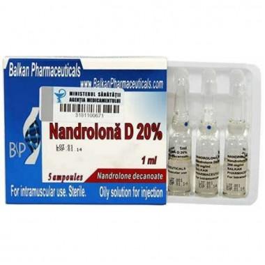 Nandrolona D 20% Нандролон Деканоат 200 мг/мл, 10 ампул, Balkan Pharmaceuticals в Костанае