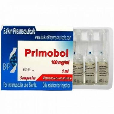 Primobol Примоболан 100 мг/мл, 10 ампул, Balkan Pharmaceuticals в Костанае