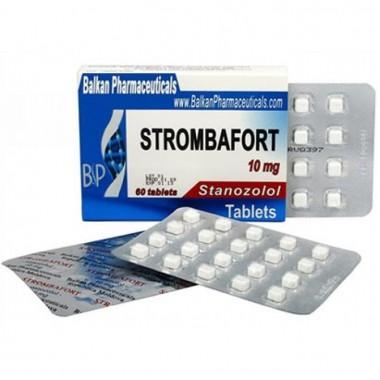 Strombafort Стромбафорт 10 мг, 100 таблеток, Balkan Pharmaceuticals в Костанае