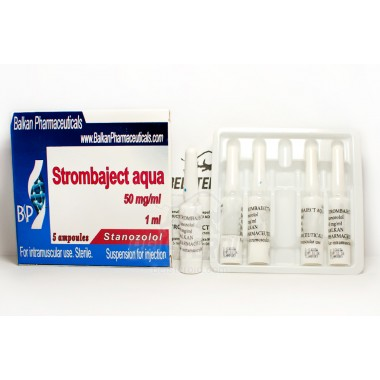 Strombaject aqua Стромбаджект аква 50 мг/мл, 10 ампул, Balkan Pharmaceuticals в Костанае