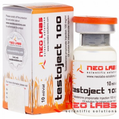 Testoject 100 Testosterone Propionate 100 мг/мл, 10 мл, Neo Labs в Костанае