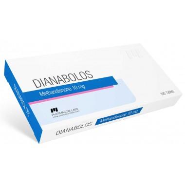DIANABOLOS Метандиенон 10 мг, 100 таблеток, Pharmacom LABS в Костанае