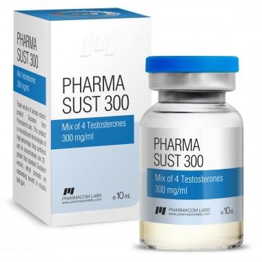 PHARMASUST 300 Тестостерон Микс 300 мг/мл, 10 мл, Pharmacom LABS в Костанае