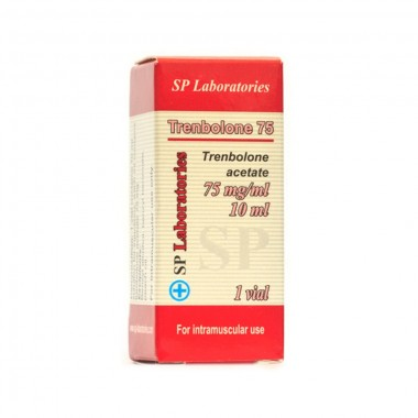 Thenbolone Acetate Тренболон Ацетат 75 мг/мл, 10 мл, SP Laboratories в Костанае