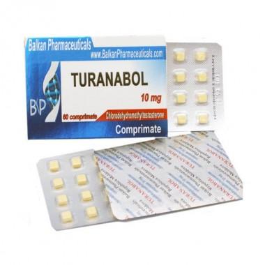 Turanabol Туринабол 10 мг, 100 таблеток, Balkan Pharmaceuticals в Костанае