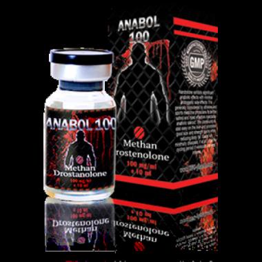 ANABOL 100 Инъекционный Метан Метандростенолон 100 мг/мл 10 мл, UFC PHARM в Костанае