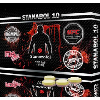 STANABOL 10 Станабол 10 мг, 100 таблеток, UFC PHARM в Костанае