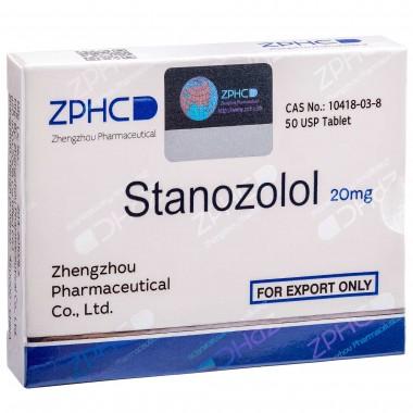 Stanozolol Станозолол оральный 20 мг, 50 таблеток, ZPHC в Костанае