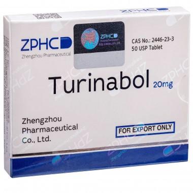 Turinabol Туринабол 20 мг, 50 таблеток, ZPHC в Костанае