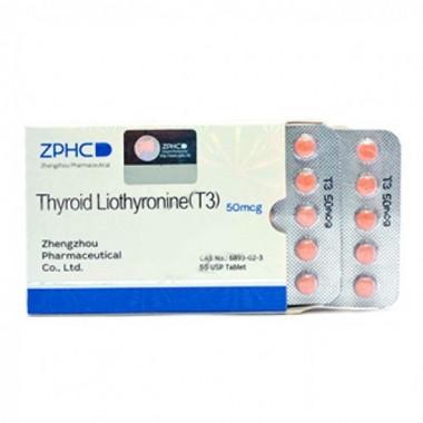Thyroid Liothyronine T3 Трийодтиронин 50 мкг, 50 таблеток, ZPHC в Костанае